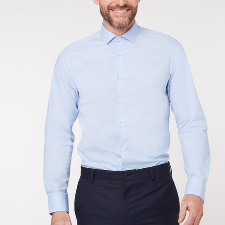 Regular Fit Business Shirt V1 // Blue (XS)