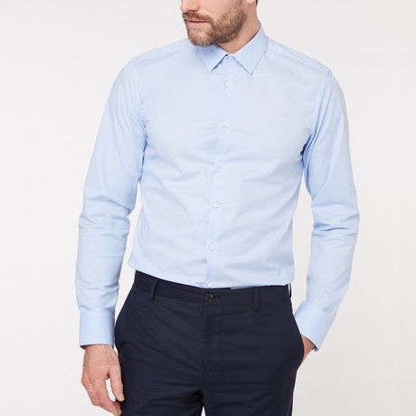 Regular Fit Business Shirt V2 // Blue (XS)