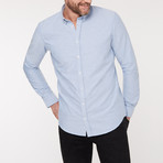 Slim Fit Casual Shirt // Blue (M)