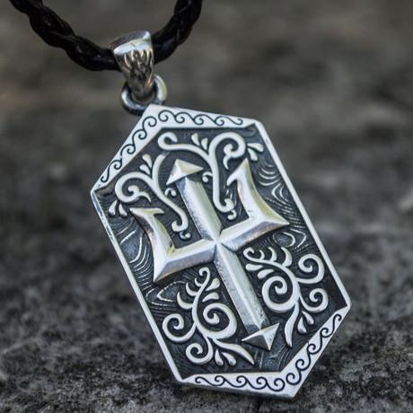 Sailor's Collection // Trident Symbol Pendant