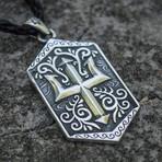 Trident Symbol Pendant