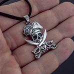 Pirate + Skull Pendant