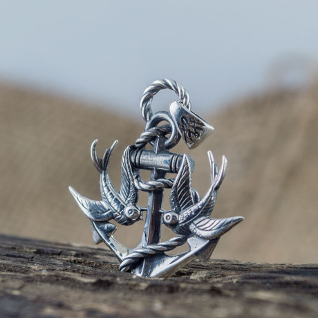 Anchor with Birds