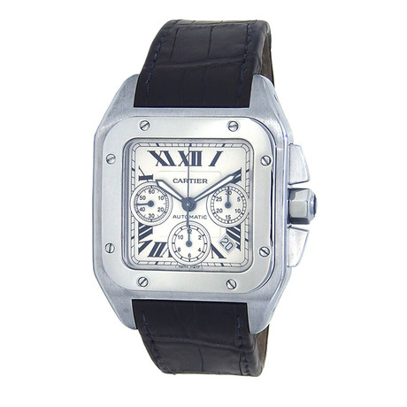Cartier Santos Chronograph Automatic // W20090X8 // Pre-Owned