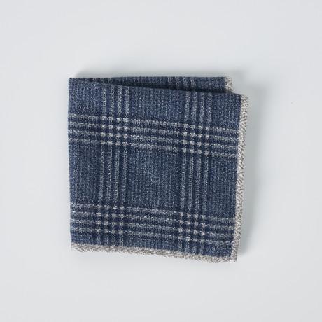 Pocket Square // Blue