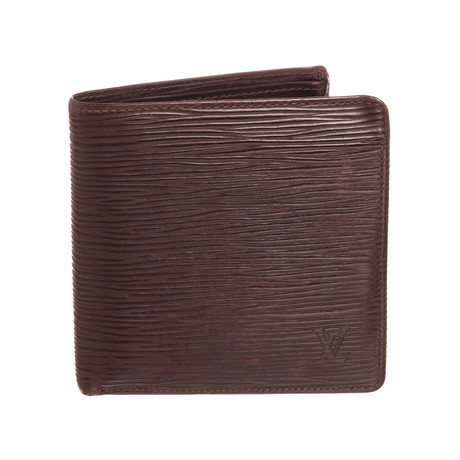 Louis Vuitton // Brown Epi Leather Marco Men's Wallet // VI0071 // Pre-Owned