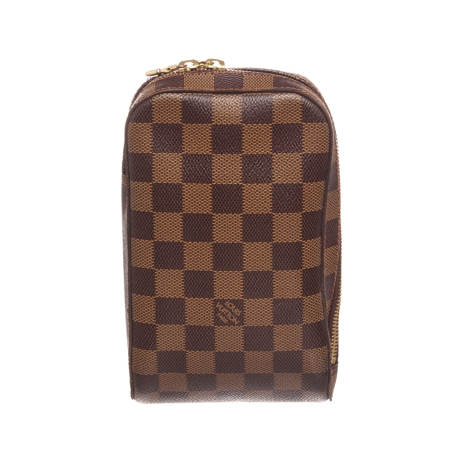 656df4a6465a Louis Vuitton    Damier Ebene Geronimos Crossbody Waist Bag    CA0074    Pre