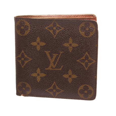 Louis Vuitton // Monogram Canvas Leather Marco Bifold Wallet // CA0941 // Pre-Owned