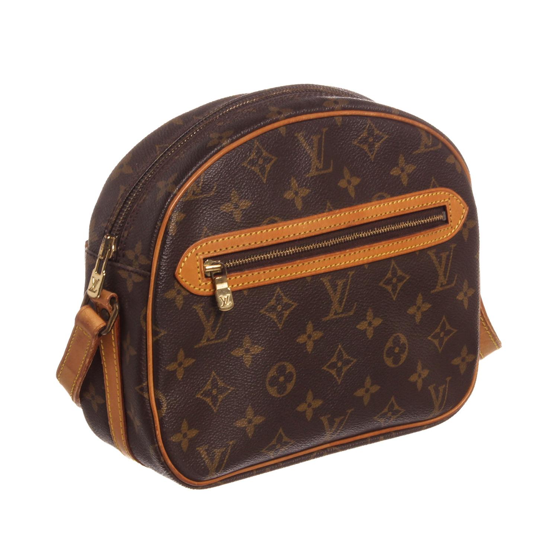 1f0a5456291 Louis Vuitton    Vintage Monogram Canvas Leather Blois Crossbody Side Bag     Vintage