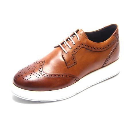 Thomas Casual Dress Shoes // Tobacco (Euro: 39)