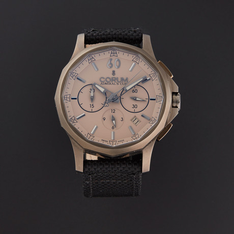 Corum Admiral's Cup Chronograph Automatic // 98410298/0603AC // Pre-Owned