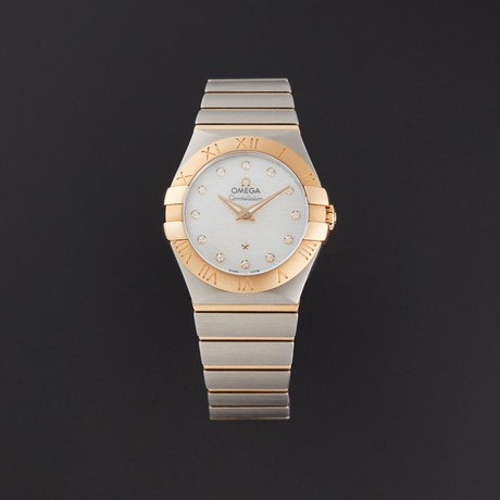 Omega Ladies Constellation Quartz // 123.20.27.60.55.008 // Store Display