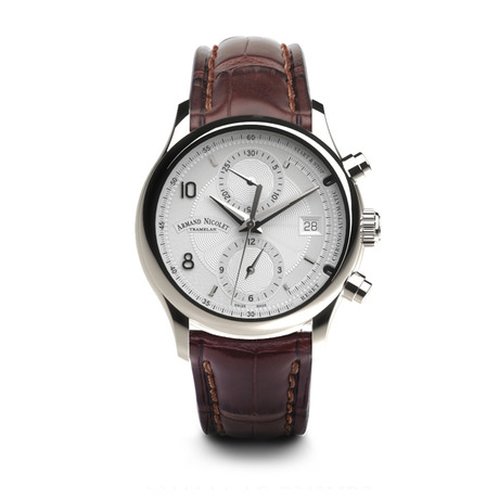 Armand Nicolet Chronograph Automatic // A844AAA-AG-P840MR2