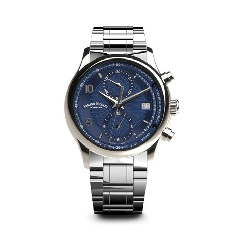Armand Nicolet Chronograph Automatic // A844AAA-BU-M9742