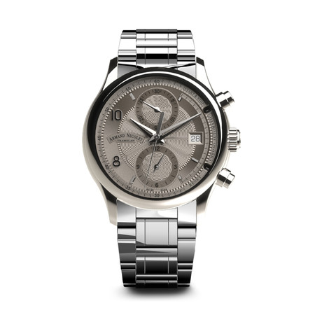 Armand Nicolet Chronograph Automatic // A844AAA-GR-M9742