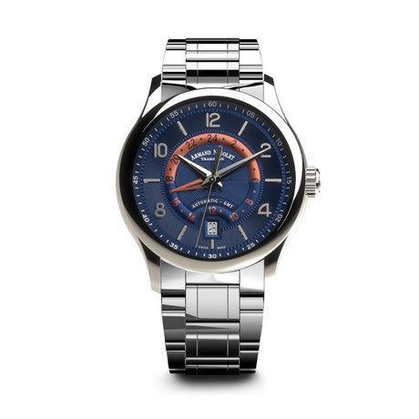 Armand Nicolet GMT Automatic // A846AAA-BU-M9742