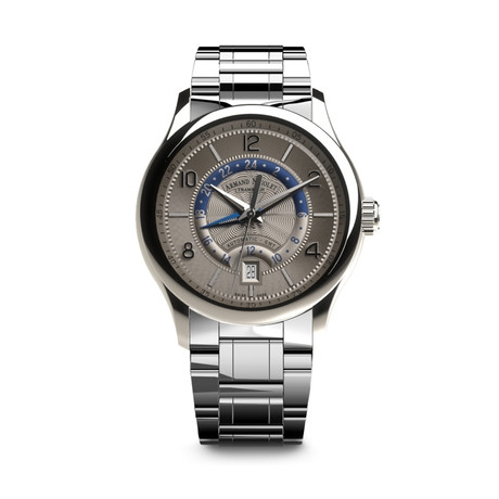 Armand Nicolet GMT Automatic // A846AAA-GR-M9742
