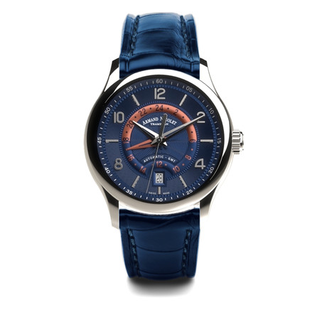 Armand Nicolet GMT Automatic // A846AAA-BU-P840BU2