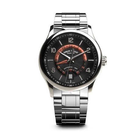 Armand Nicolet GMT Automatic // A846AAA-NR-M9742