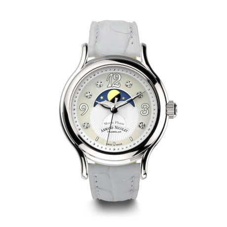 Armand Nicolet Moonphase Quartz // A882AAA-AN-P882BC8