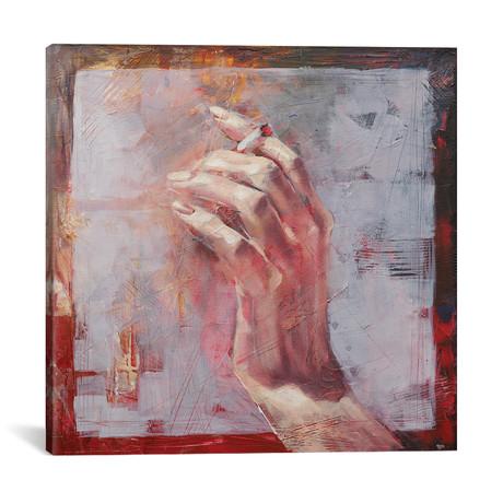 "Hands II (18""W x 18""H x 0.75""D)"