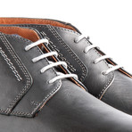 London Leather // Dark Gray (Euro: 42)