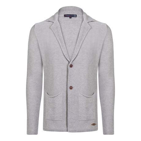 Altan Knitwear Jacket // Light Gray (XS)