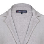 Altan Knitwear Jacket // Light Gray (M)