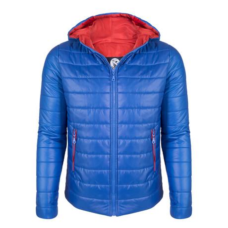 Berkant Winter Coat // Sax (S)
