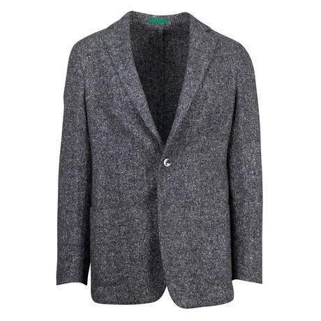 Pal Zileri // Wool Blend Sport Coat + Pockets // Gray (US: 48R)