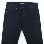 Tom Ford // Denim Five Pocket Straight Leg Jeans // Blue (44)