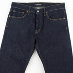 Tom Ford // Five Pocket Straight Leg Jeans // Blue (45)