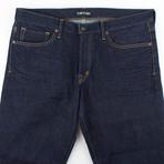Tom Ford // Five Pocket Slim Fit Jeans // Blue (44)