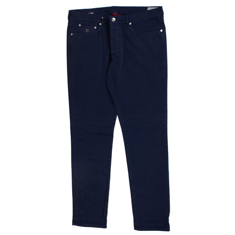 Brunello Cucinelli // Denim Five Pocket Jeans // Indigo Blue (44)