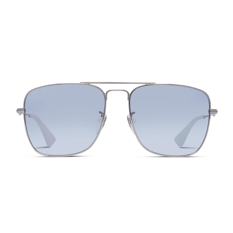 6171b5a9180 00f9feae2b8774ea8d83cc733e1ab935 medium · Men s GG0108S-005-55 Sunglasses     Silver + Siver Mirror