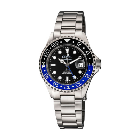 Gevril Wall Street GMT Automatic // 4950A