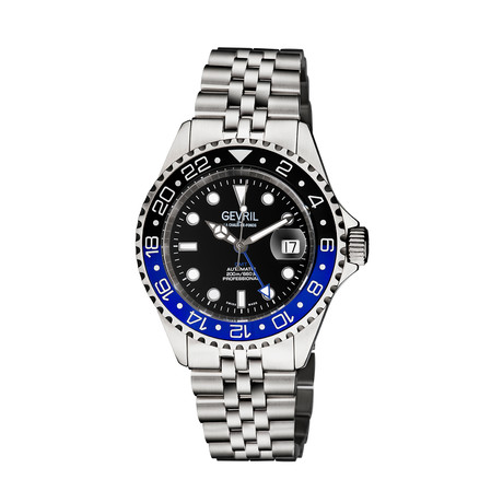 Gevril Wall Street GMT Automatic // 4950B