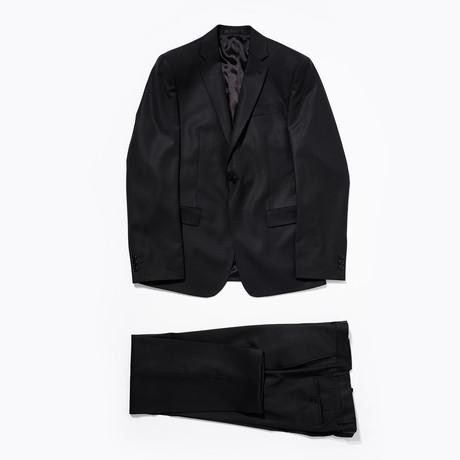 Wool Suit // Black (Euro: 46)