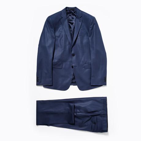 Wool Suit // Navy (Euro: 46)