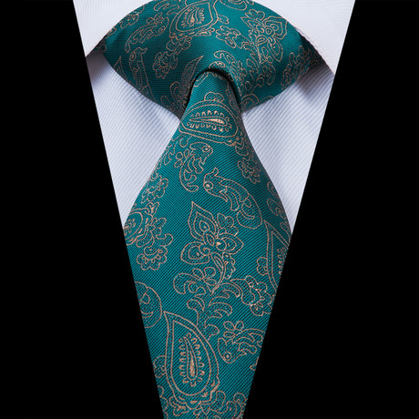 Bert Handmade Tie // Teal