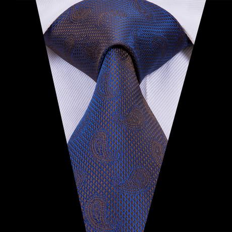 Portier Handmade Tie // Iridescent Blue