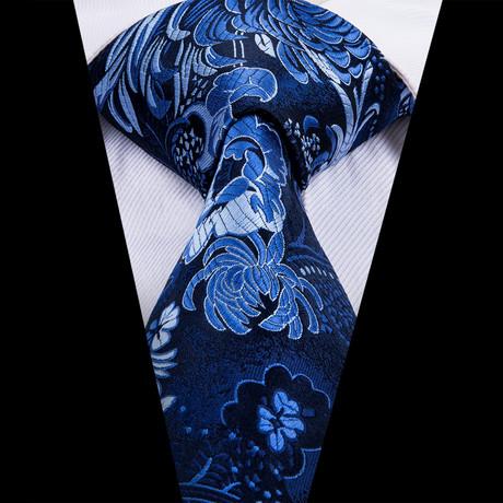 Atlantic Handmade Silk Tie // Navy