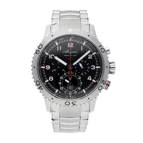Breguet Type XXII Flyback Chronograph Automatic // 3880ST/H2/SX0 // Pre-Owned