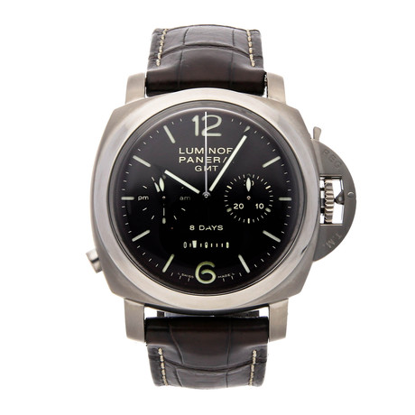 Panerai Luminor 1950 Monopulsante 8 Days GMT Chronograph Manual Wind // PAM 311 // Pre-Owned
