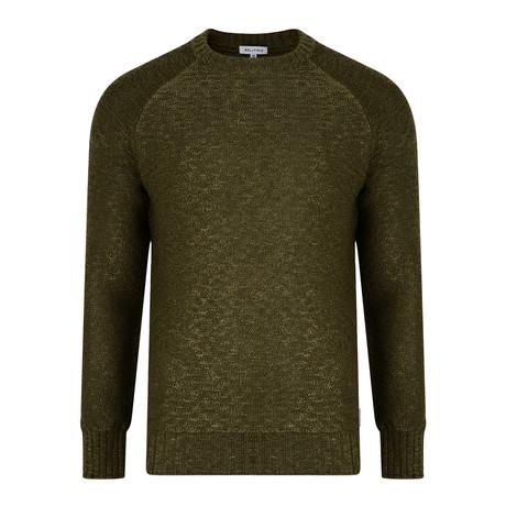 Kastoria Quilted Sweatshirt // Khaki (M)