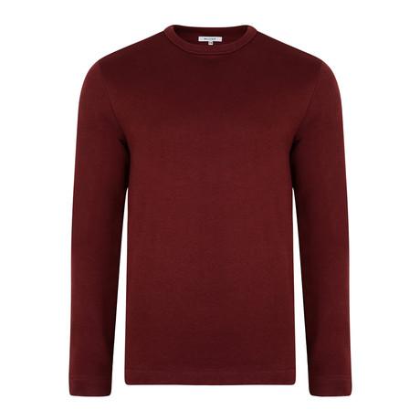 Laird High Neck Sweatshirt // Port (S)