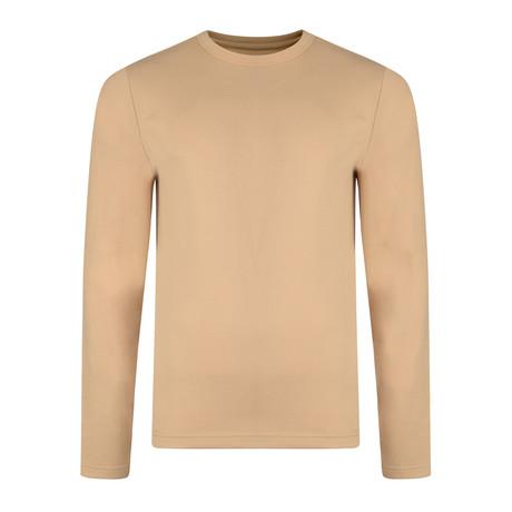 Laird Crew Neck Sweatshirt // Sand (S)