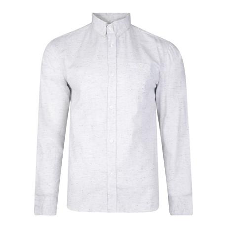 Lund Long-Sleeve Nep Shirt // Light Gray (S)