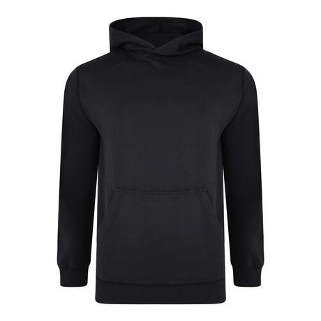 Roca Basic Hoodie Sweatshirt // Black (S)