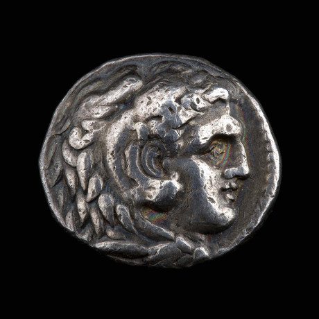 Alexander the Great Silver Tetradrachm minted in Babylon // Macedonian Kingdom Ca. 336-323 BCE